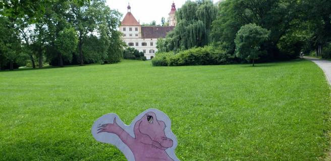 Flat Rose Travels Landy Graz Austria Schlossenberg UNESCO World Heritage Site June 2018