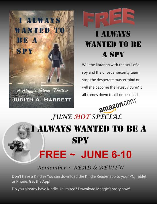 I Always Wanted to Be a Spy promo free June 2019