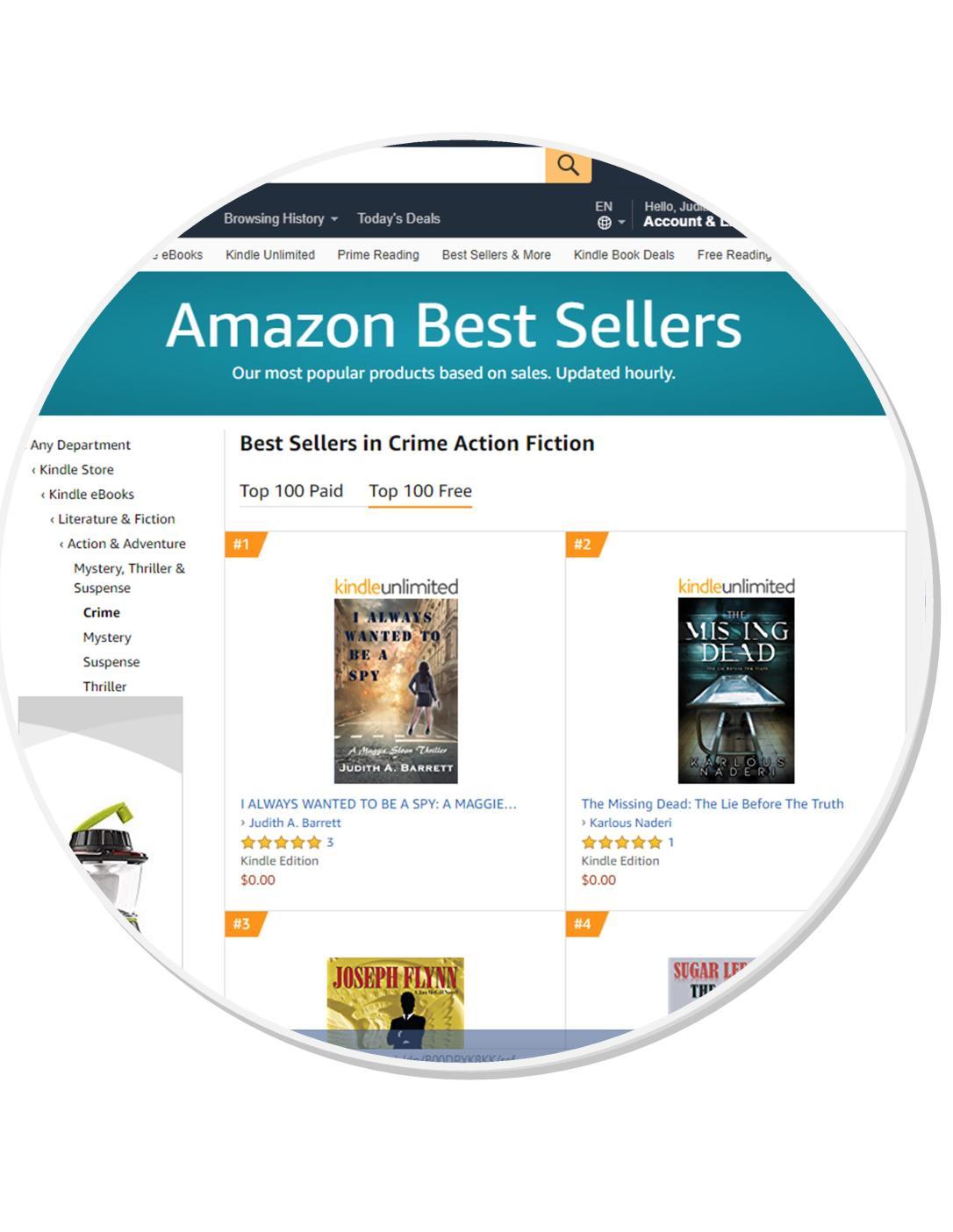 SpyNumber ONE CrimeAction Fiction on Amazon June 6 2019
