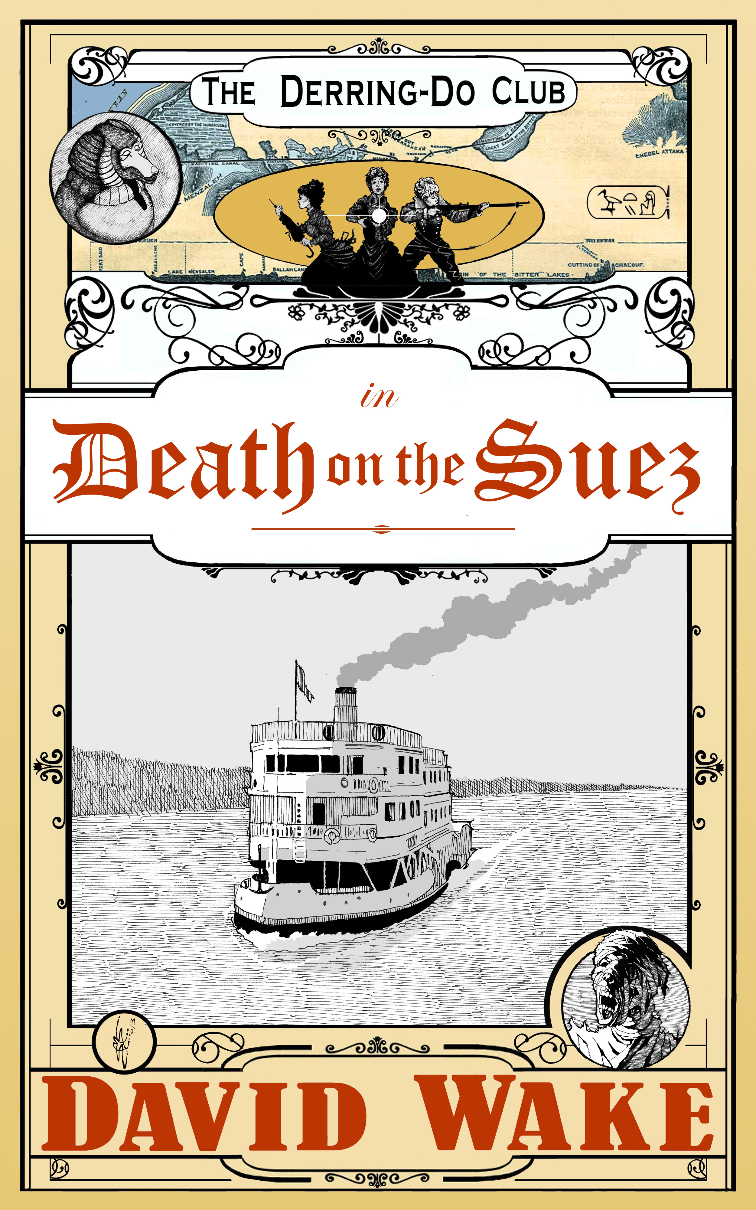 Death on the Suez (Front Cover)