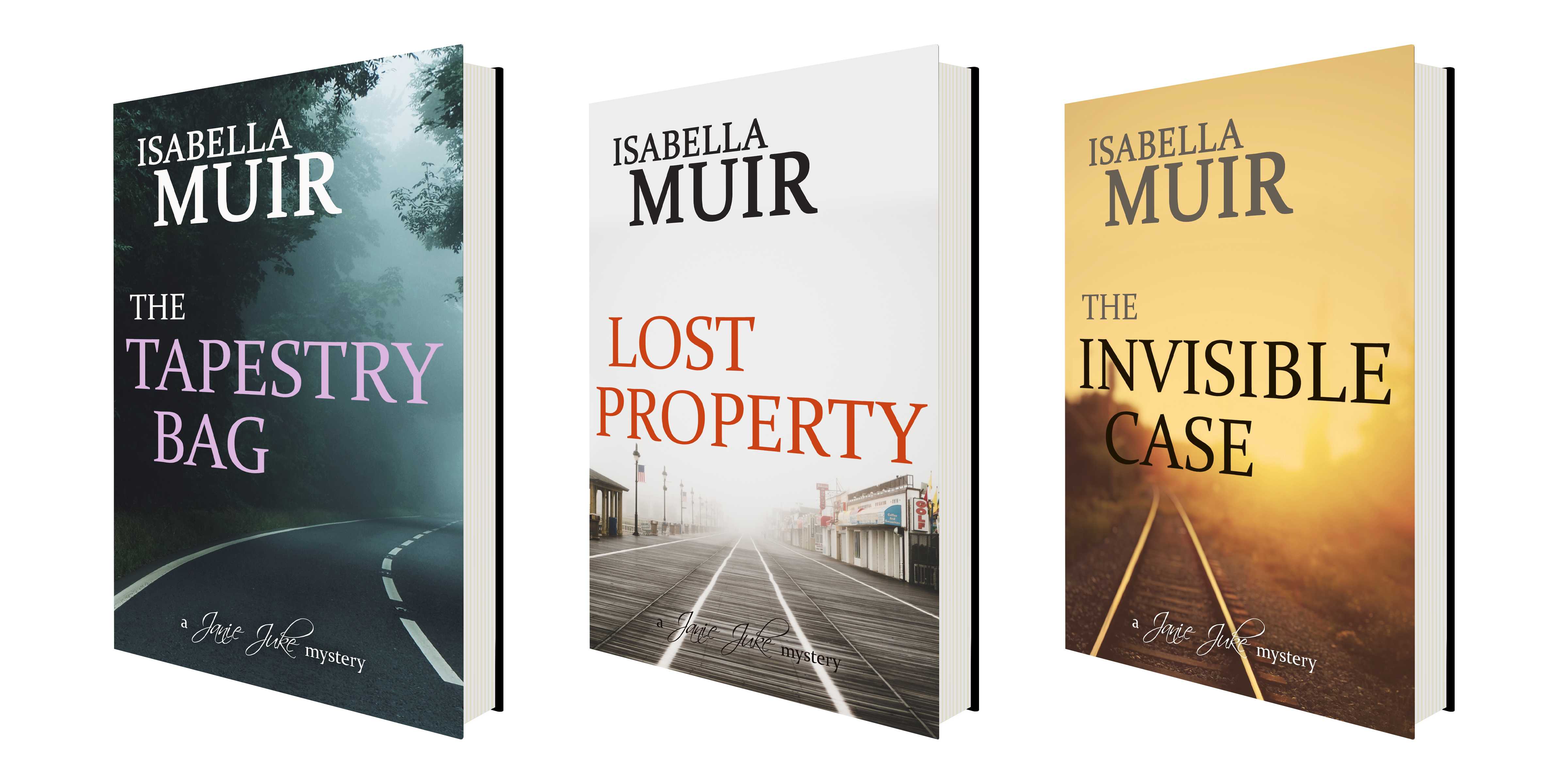 Isabella Muir 3D COVERS x 3